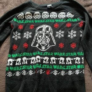 GUC Star Wars Darth Vader Christmas sweater